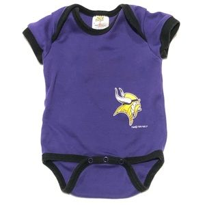 Minnesota Vikings 3-6 Month One Piece Outfit